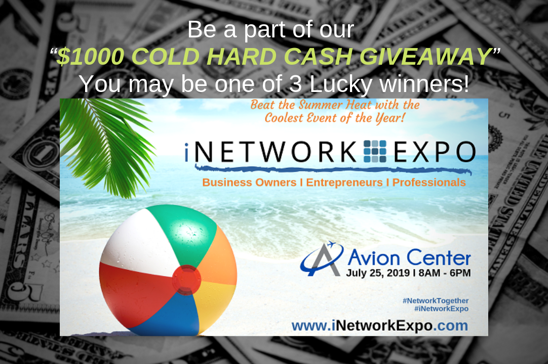 iNetworkExpo, July 25th, 2019, Avion Center, Chandler, AZ